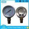 indicateur de pression en laiton d'Internals 4kg de cas de 63mm solides solubles