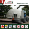 販売のための白いPVCカバー測地線ドームのテントの半分球