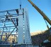 Atelier préfabriqué de construction légère de bâti en acier