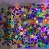 Tri-Giradores plásticos do dedo da mão da inquietação do piscamento colorido do diodo emissor de luz