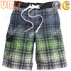 Gradient Printed Surf Shorts dos homens com o Polyester 100% Fabric