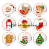 De Gift van Kerstmis van de sticker (wy-SS033654)