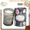 Glasglas gerochene Kerze-Sojabohnenöl-Wachs-Kerze