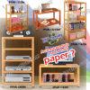 Meubles de papier réutilisés