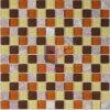 Mattonelle di mosaico di vetro della miscela di pietra rossa (CS123)