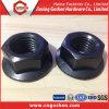Noix #6 #8 #10 de bride d'acier du carbone de la norme ANSI B18.2.2