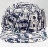 Dinero del efectivo 2016 All Over el casquillo del campista del panel de la impresión 5