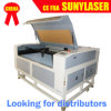Cortador laser com fornecedor confiável da China para plástico (SUNY-1390)