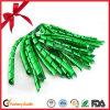 녹색 금속 컬 리본 꽃 활