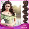 Trama Burmese dell'unità di elaborazione della pelle dei capelli umani del Virgin dell'onda del corpo 4#