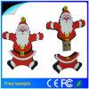 La promoción de la Navidad Santa Claus PVC unidad Flash USB 4GB