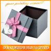 صندوق من الورق المقوّى مربّعة أسود زخرفيّة ([بلف-غب453])