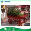 Carretilla de madera al aire libre de la flor para el uso público (FY-005B)