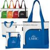 Яркий цветной больших рекламных магазинов сумки