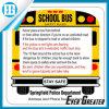 Decalcomanie personalizzate degli autoadesivi dello scuolabus di figura
