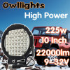 Autoteile Truck Car Light Spot Lighting 10inch 225W LED Work Light
