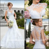 Платья венчания Z9029 шнурка Vestidode Casamento мантий Mermaid Bridal бразильские