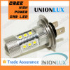 Flash haute puissance Cheap 12V 80W à LED lampe de feu de brouillard feu antibrouillard LED automatique