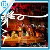 Стикер Windows белой тесемки с Рождеством Христовым двойной, котор встали на сторону