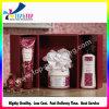 Caixa de empacotamento de papel profissional do cuidado de pele da caixa de papel dos cosméticos da forma