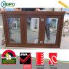 Indicador eficiente da energia, UPVC que dobra Windows