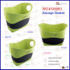 Color verde Velvet Suede Basket (1503R1)