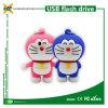 Nettes Karikatur USB-Blinken-Großhandelslaufwerk Doraemon grelle Platte