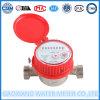 À rotor horizontal simple de mètre d'eau de Sec-Cadran de gicleur
