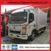 Caminhão da caixa de Sinotruk da alta qualidade mini para a venda