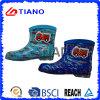 Ботинки дождя PVC способа для детей/мальчиков (TNK70009)