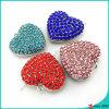 Encantos pendientes del corazón grande para los resultados de la joyería (LPE)