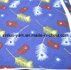 Tissu d'impression de dessins animés de plumes pour la conception de style de vêtements chauds