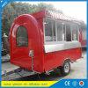 L'alimento standard del carrello dell'Australia Mobile Coffee Van Mobile Food trasporta il rimorchio su autocarro mobile dell'alimento