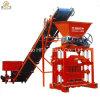 Bloque de cemento alemán que hace la máquina del bloque del ladrillo de la máquina Qt4-35interlocking en Kenia