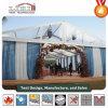 Tenda trasparente di lusso del tetto con le tende del muro laterale per la festa nuziale in hotel 5-Stars