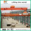 Grúa de puente de arriba aprobada de la grúa del EOT de la viga 2016