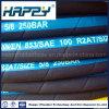 Draht-umsponnener hydraulischer Gummischlauch SAE-100r2at/2sn