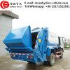 Preço pequeno do caminhão de lixo do compressor do caminhão de lixo de HOWO 4X2 10m3