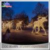 Luz ao ar livre da paisagem do feriado do diodo emissor de luz da decoração do Natal grande