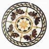 Medaglione di marmo del mosaico della pietra del pavimento per la decorazione del pavimento