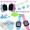 Het nieuwste GPS 4G/WiFi Slimme Horloge van de Drijver voor de Veiligheid van het Kind/van Jonge geitjes D48