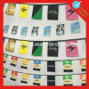 Вися шнур национальных флагов кубка мира 32