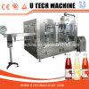 Jugo automático de la botella del animal doméstico de las ventas calientes/máquina de rellenar del té