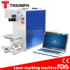 Precio de la máquina de la marca de Laserr de la fibra de la caja del teléfono