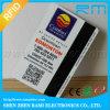 Tarjeta plástica del PVC de la raya magnética de Cr80 Hico para la gimnasia
