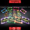 アクリルの水晶/王冠Bronzing Poker Chips を使ってムギのカジノチップ(YM-CP30-31)