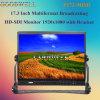 Sdi/HDMIは17.3の TFT LCDのモニタを入れた