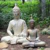 야외 가정 기도 Buddha 장식 정원 동상
