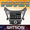 Witson Windowsのヒュンダイ新しいElantra I35 Avante 2010 2013年の無線のステレオDVDプレイヤー