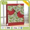 Bolsa de papel revestida del regalo del pequeño arte rojo del pájaro